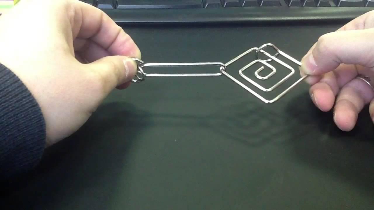 Головоломка спиралька wire puzzle spiral - YouTube