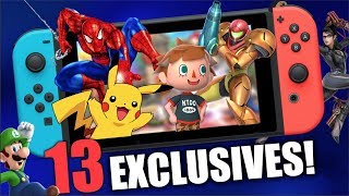 BEST Upcoming Switch Exclusives - 2019 Exclusive Games!