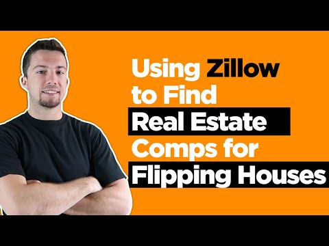 Using Zillow to Find Real Estate Comps for Flipping Houses