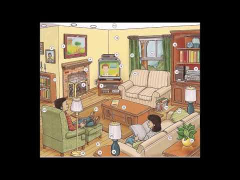 Living Room Furniture Vocabulary living room furniture vocabulary - learn english vocabulary - youtube