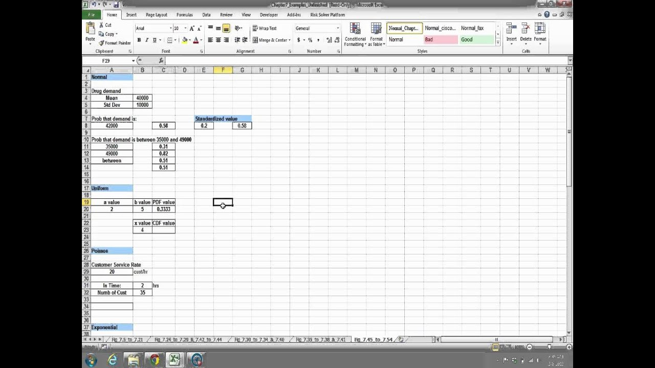 developing spreadsheet based decision support systems video fig 745 to 753