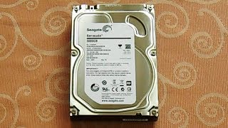 Seagate Barracuda 7200.14 3TB - Unboxing and First Impression