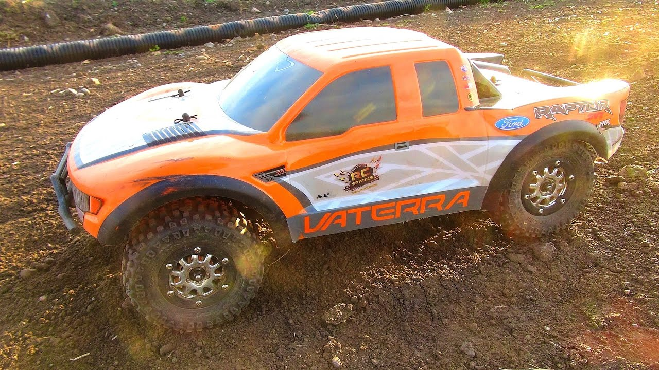Rc adventures vaterra ford raptor svt 4x4 pre runner radio control truck with avc technology youtube