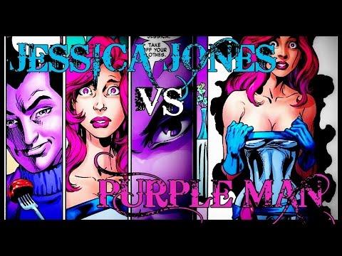 JESSICA JONES VS. PURPLE MAN (KILLGRAVE) │ Comic History