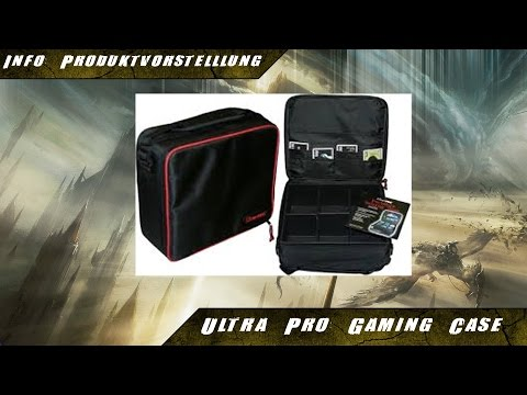 Mtg - Unboxing Zubehör: Ultra Pro's Gaming Case  [Info][Deutsch]