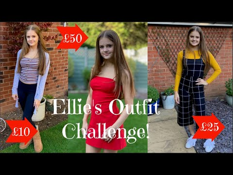 Ellie's Outfit Challenge!