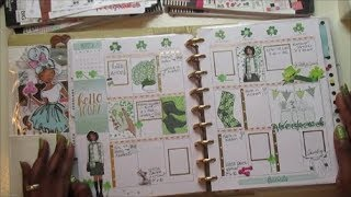 Plan With Me | St. Patrick's Day | ft. Koko's Art House Printables