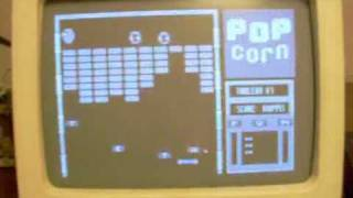 Запуск на БК 0010-01 гри Popcorn