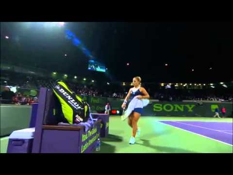 Sony Open Tennis Li vs Cibulkova Highlights 3-27