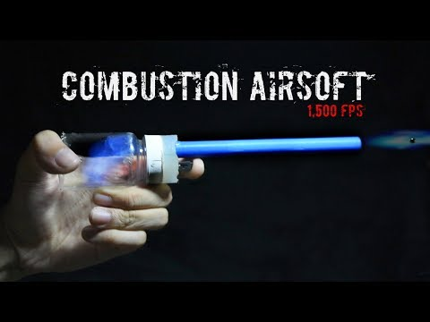 Make A Mini Combustion Rifle (BBs + Alcohol)