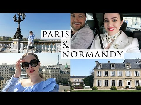A TRIP TO PARIS & A COUNTRYSIDE CHATEAU | TRAVEL VLOG | Arabella Golby
