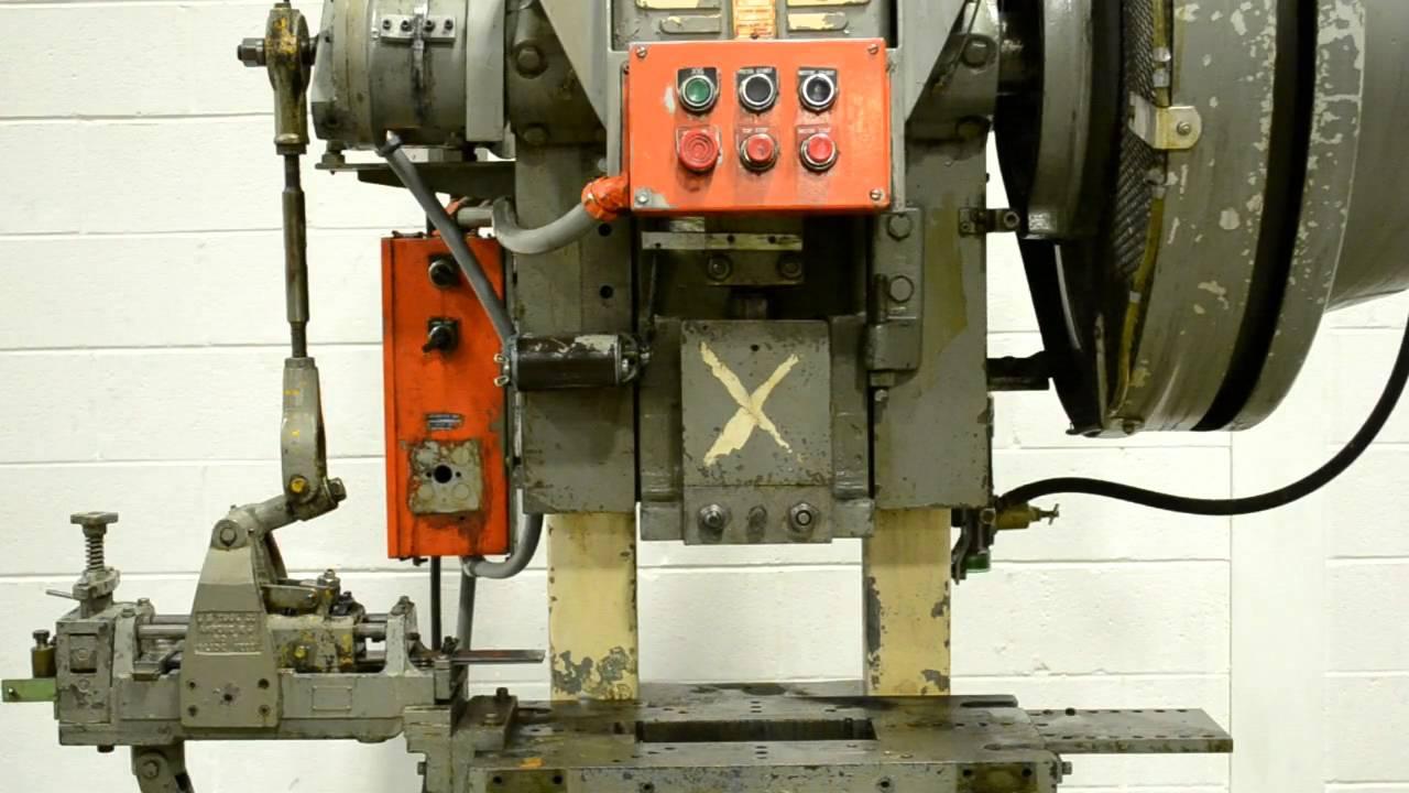V & O Super 25 Ton Punch / Stamping Press