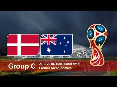 Denmark vs. Australia- 2018 World Cup