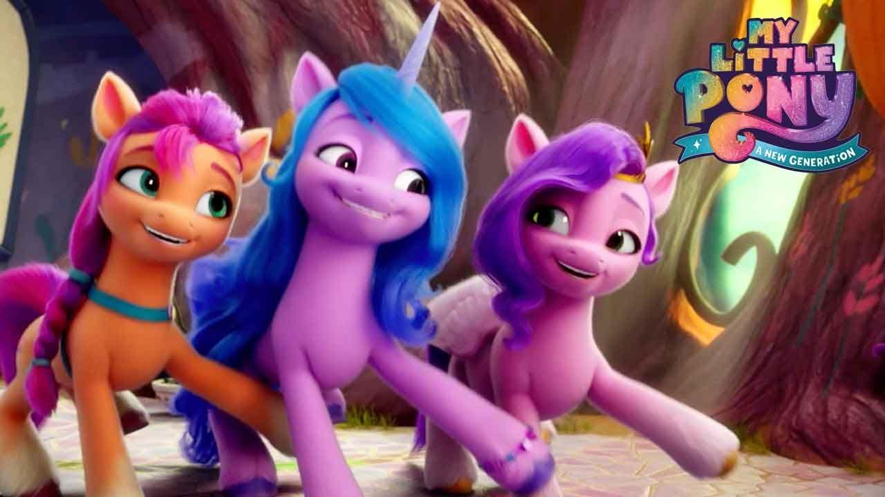 Download My Little Pony: A New Generation   New Pony Movie! On Netflix September 24