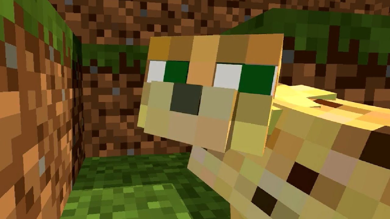 Ocelot Life Minecraft Animation Youtube