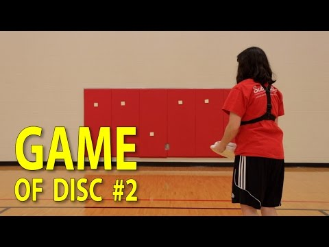 Game Of DISC #2   Ultimate Frisbee Throwing Practice Game