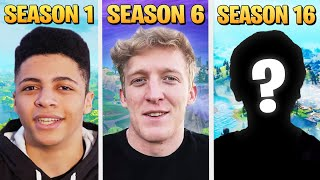I Ranked the BEST Fortnite Player from Each Season!