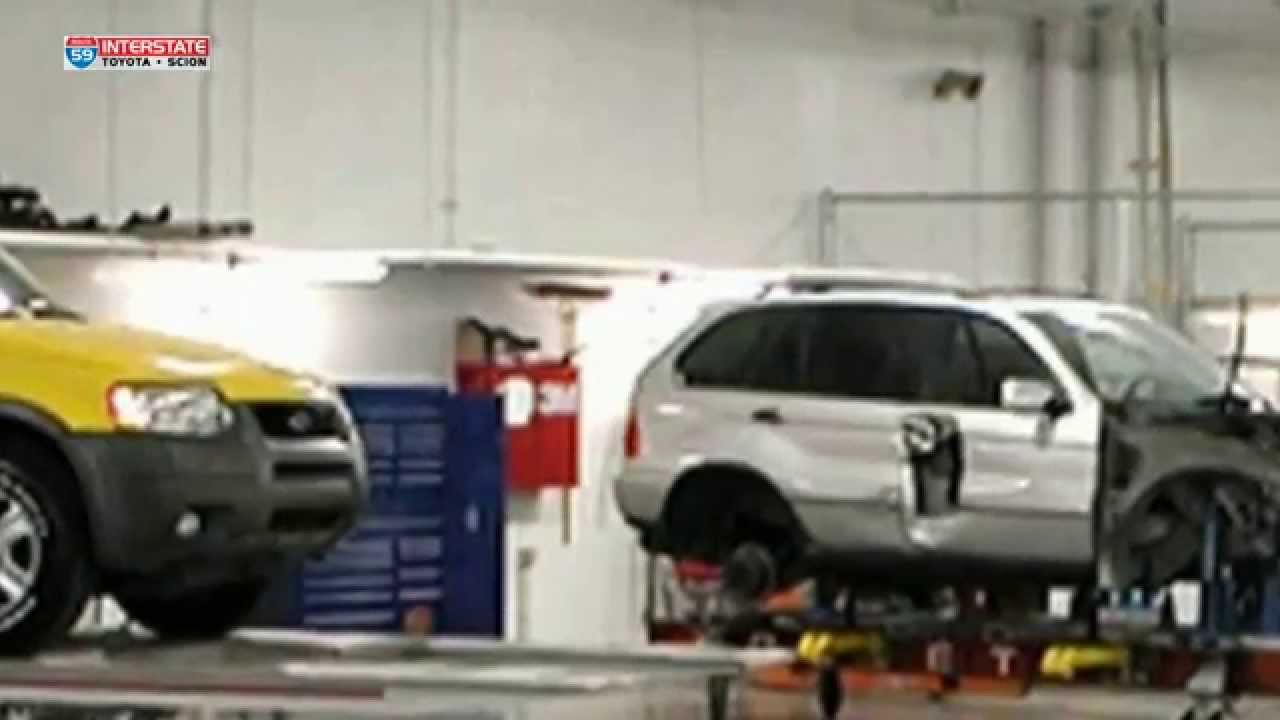 Auto Body Repair In Rockland Ny Interstate Toyota