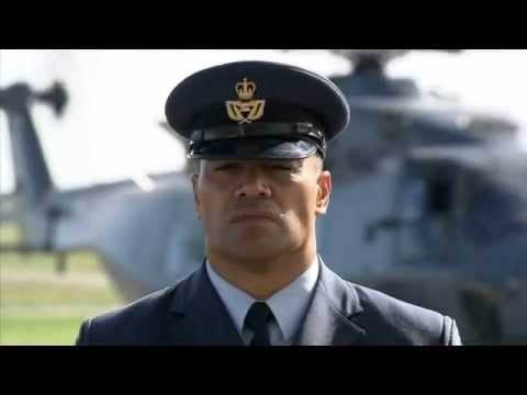 Meet RNZ Air Force Warrant Officer George Mana - YouTube