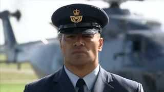 Meet RNZ Air Force Warrant Officer George Mana