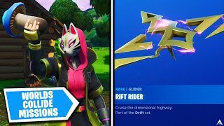 All WORLDS COLLIDE MISSIONS and REWARDS on Fortnite Season X...