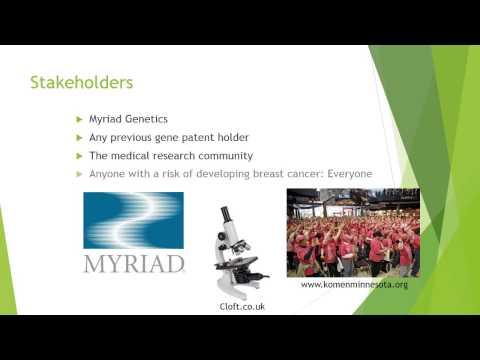 Myriad Genetics Presentation