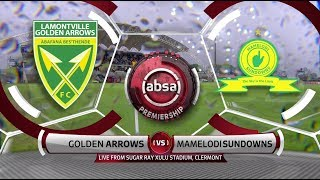Absa Premiership | Golden Arrows v Mamelodi Sundowns | Highlights