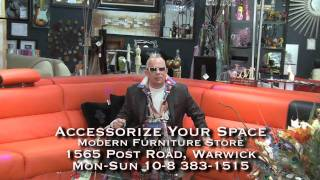 Come On In To Accessorize Your Space Modern Furniture Store