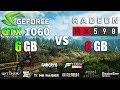 RX 590 vs GTX 1060 Test in 8 Games