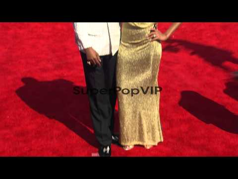 Faune Chambers, Fonzworth Bentley at 2012 BET Awards on 7...
