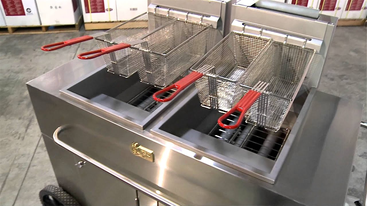 Crown Verity Inc Stainless Steel Portable Fryers Youtube