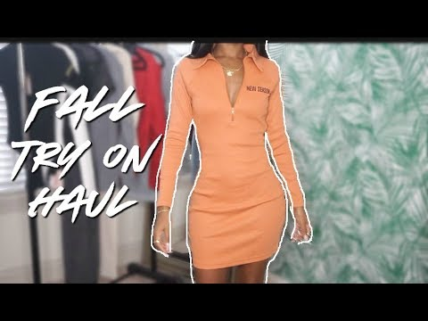 """""""FALL"""" TRY ON HAUL 