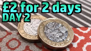 2 Pounds, 2 Days (6 Meals) *Day 2* - Limited Budget Food Challenge