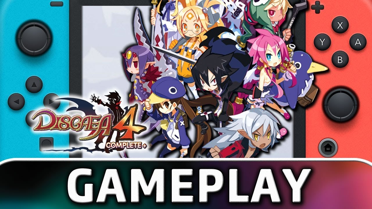 Disgaea 4 Complete+   First 20 Minutes on Nintendo Switch