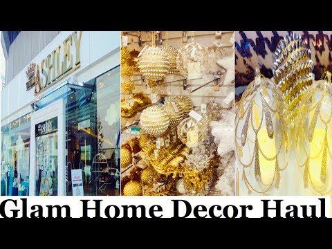 Glam Christmas Haul | Home Decor Haul | William Ashley | Homesense