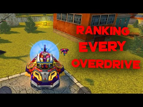 Ranking Every Overdrive In Tanki Online