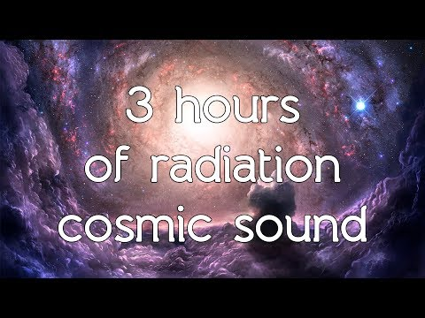 🎧 Radiation cosmic sound in high quality white noise ASMR Space sounds / Connect to the universe