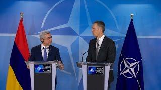 NATO Secretary General with President Armenia, 27 FEB 2017