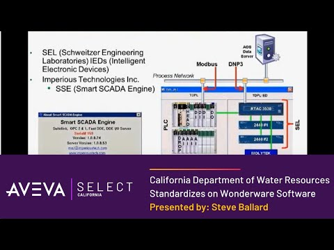 California Department of Water Resources Standardizes on Wonderware Software