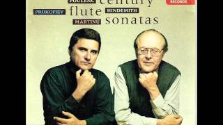 Paul Hindemith: Sonata for Flute and Piano (Sehr Lebhaft-March)