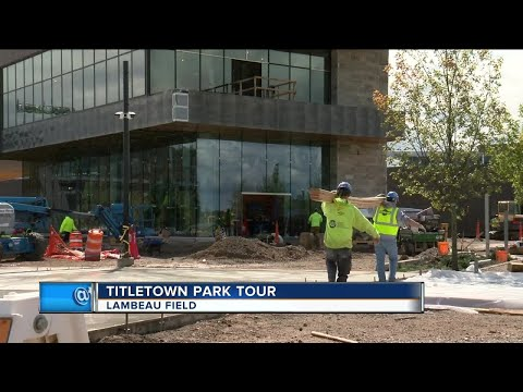 Packers Unveil New Titletown Park