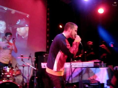 Mike Posner Feat.Big Sean-Cooler Than Me(Live)@ SOB's