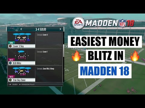 The Easiest Blitz In Madden 18 | Madden 18 Tips