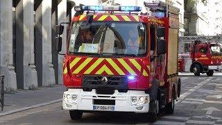 Pompiers Lyon Engins Feu (compilation) Part 2