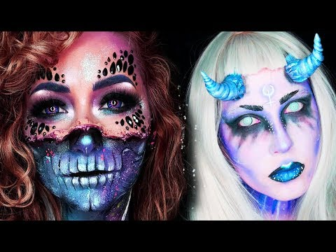 15 Cool DIY Halloween Makeup IDEAS + GRWM DYI Costumes 2018