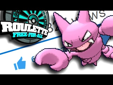 The like button isn't the only thing Gligar smashes in this video (ROULETTE FFA)