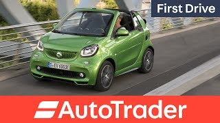 Smart ForTwo Electric Drive 2017 first drive review