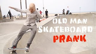 Scare Man skateboarding PRANKJulien Magic