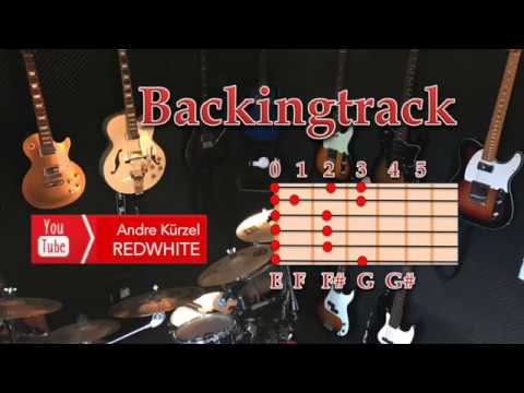 Backing track FALLING FROM THE SKY - Pop Rock Guitar Backing Track