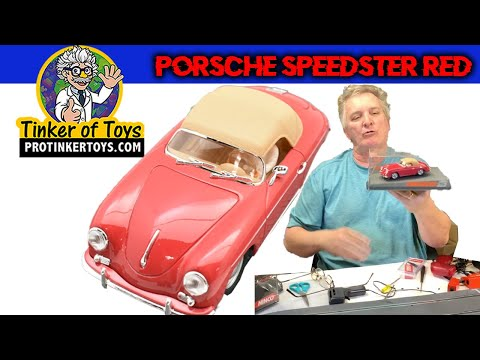 Porsche Speedster Red | 50567 | Ninco